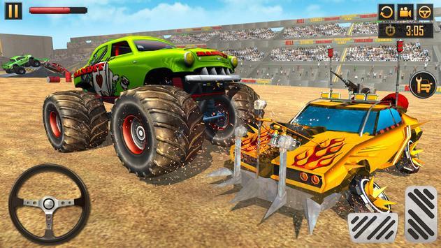 Monster Truck Crash New Demolition Derby Stunts screenshot 18