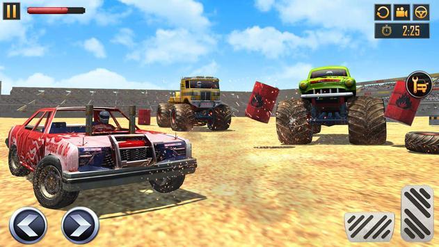 Monster Truck Crash New Demolition Derby Stunts screenshot 5