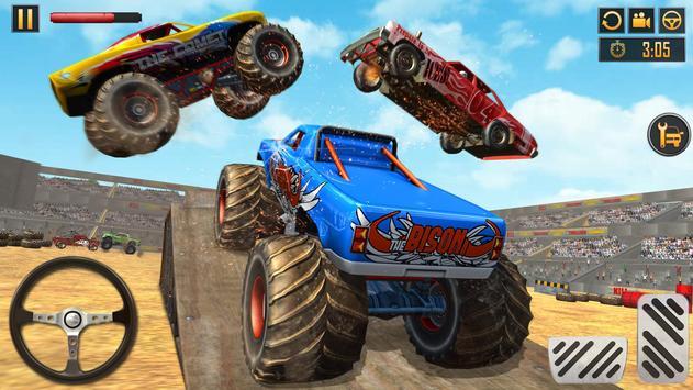 Monster Truck Crash New Demolition Derby Stunts screenshot 8