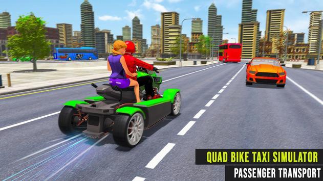 Flying ATV Bike Taxi Simulator: Flying Bike Games screenshot 3