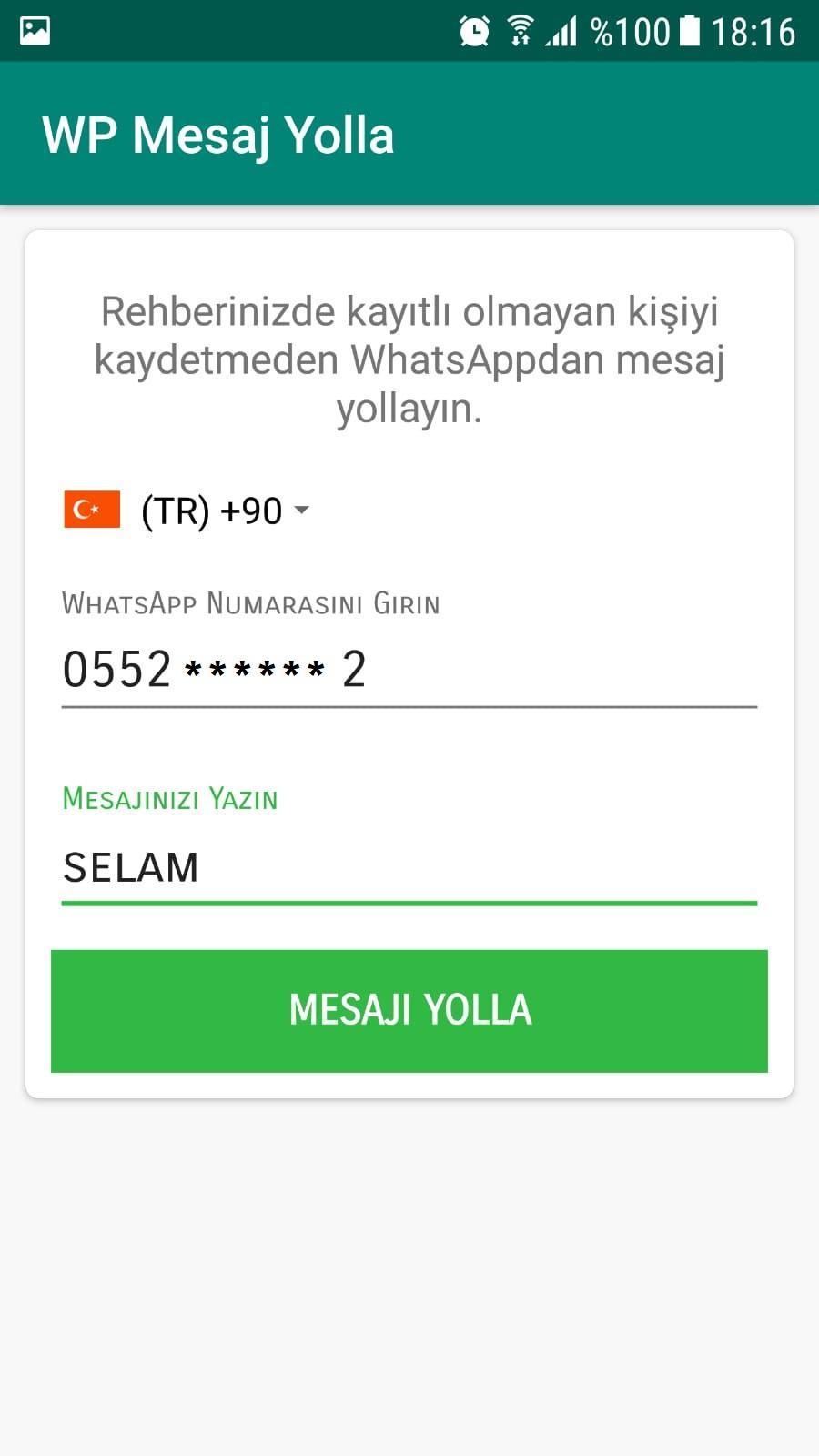 WP Mesaj Yolla for Android - APK Download