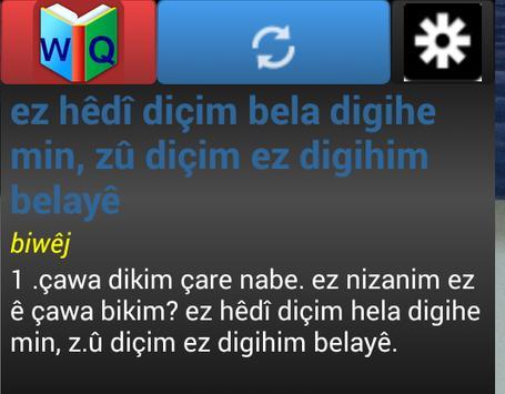 Kurdish Dictionary - WQFerheng screenshot 6