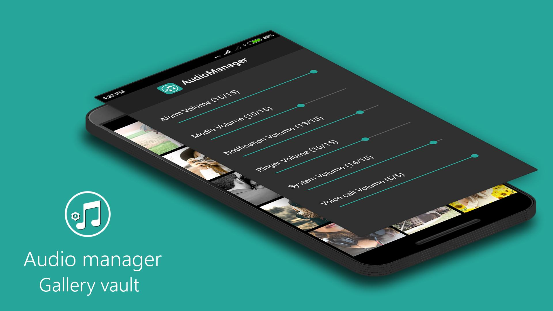 Audio Manager Gallery Vault: Hide photos-videos for Android