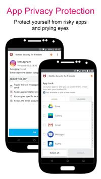 McAfee® Security for T-Mobile captura de pantalla 1