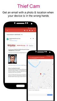 McAfee® Security for T-Mobile captura de pantalla 2