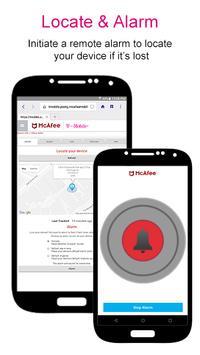McAfee® Security for T-Mobile captura de pantalla 3