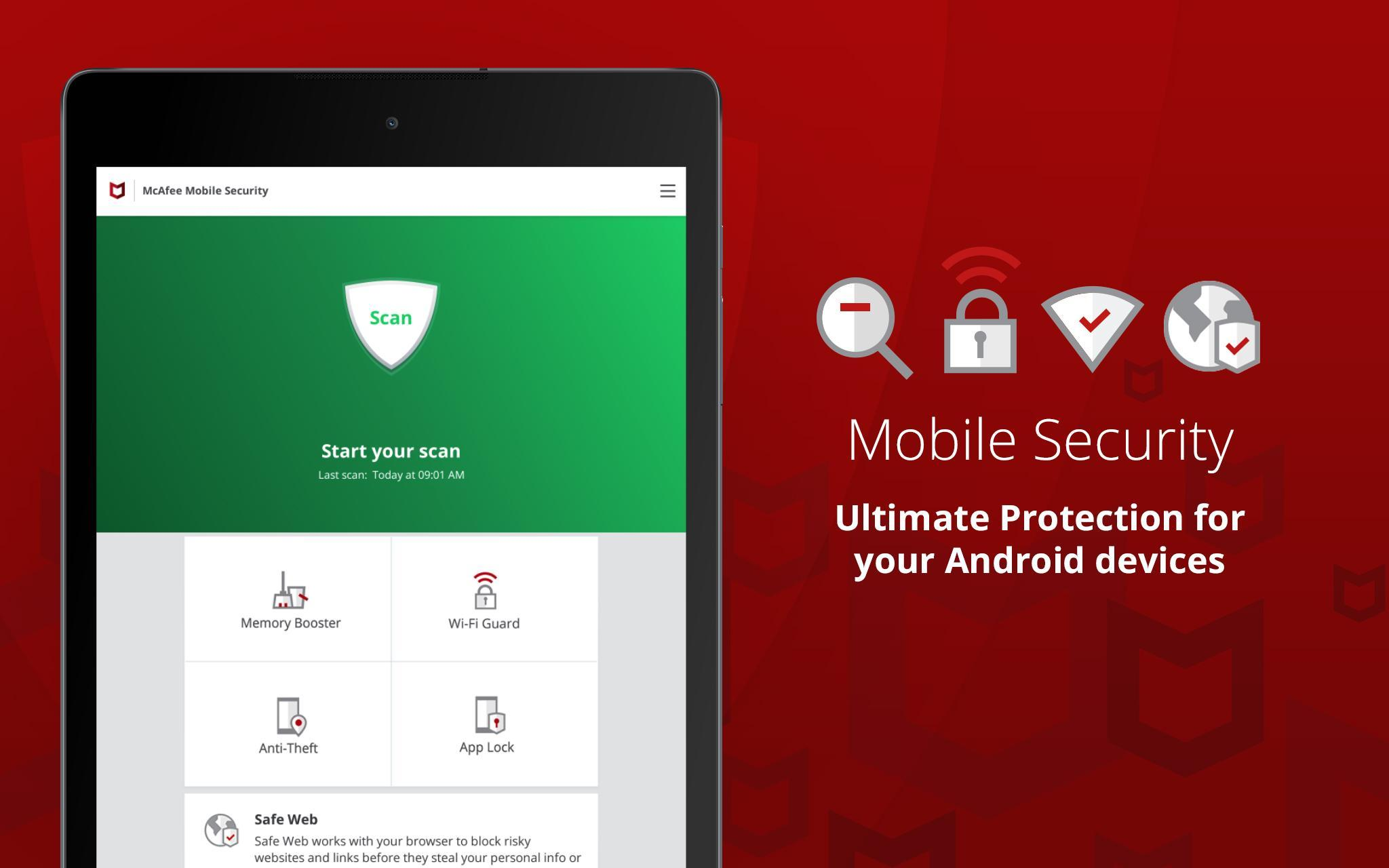 Mobile Security: Antivirus, Wi-Fi VPN & Anti-Theft for Android - APK