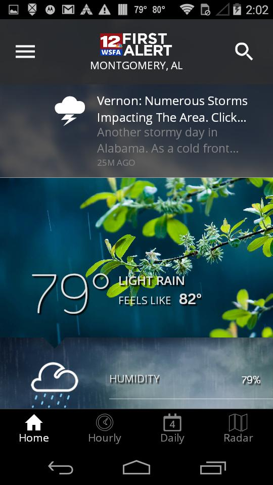 WSFA First Alert Weather for Android - APK Download