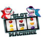 shark fruit casino slots machines icon