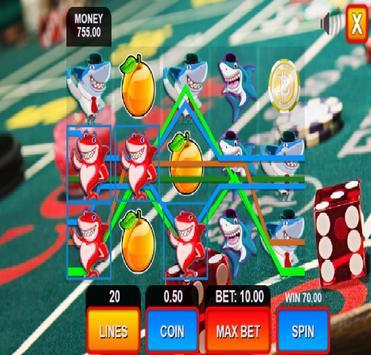shark fruit casino slots machines screenshot 6