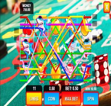 shark fruit casino slots machines screenshot 7