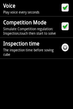 Magic Cube Timer(voice) screenshot 2