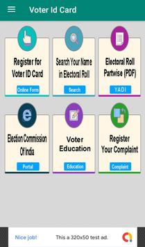 Voter ID Card Services poster