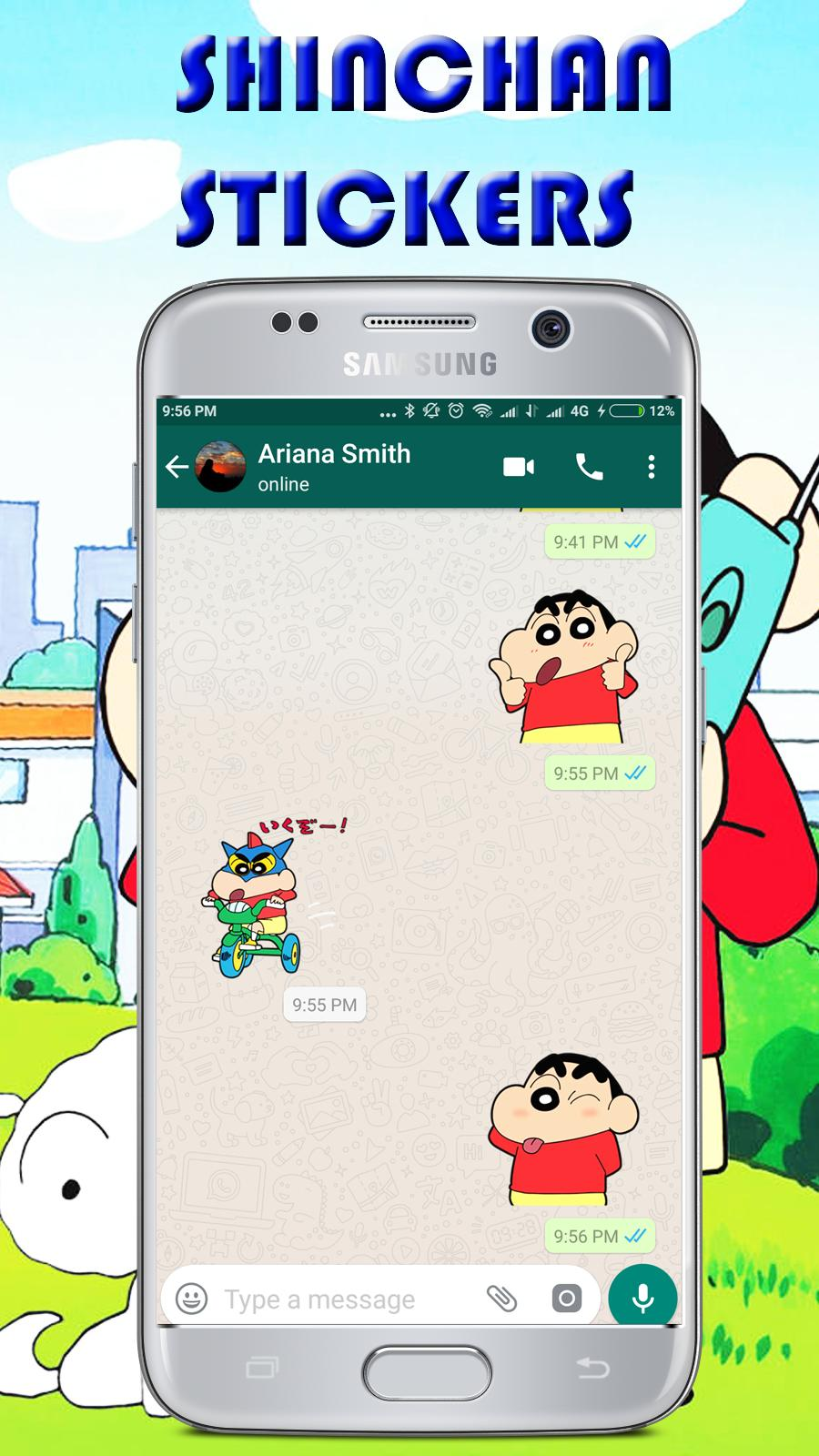 Shinchan stickers for whatsapp wastickerapps for android apk.