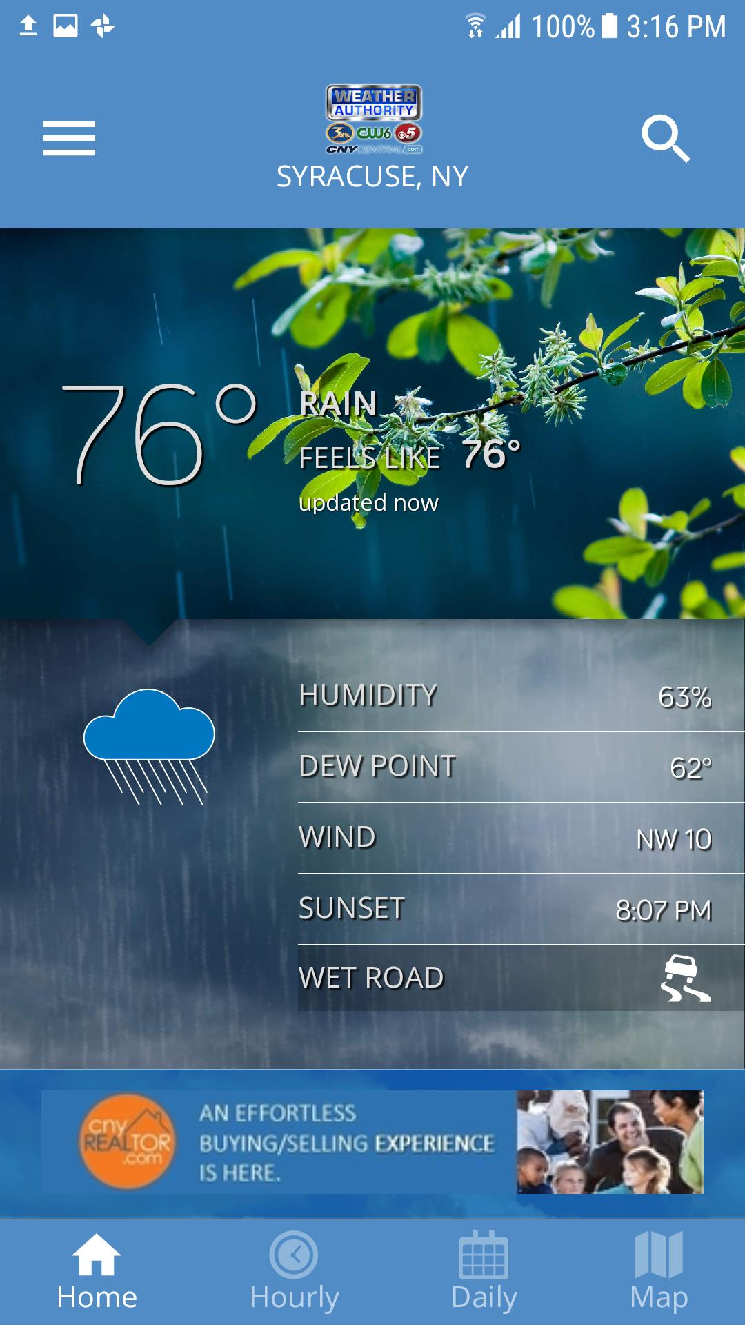 Cny Central Weather For Android Apk Download