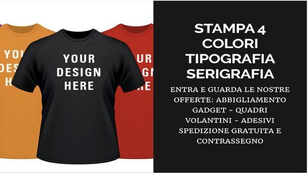 Stampa4Colori poster