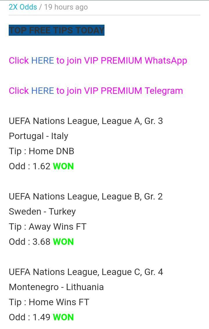 2X Odds for Android - APK Download