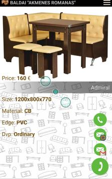 "Furniture ""AKMENES ROMANAS"" screenshot 1"
