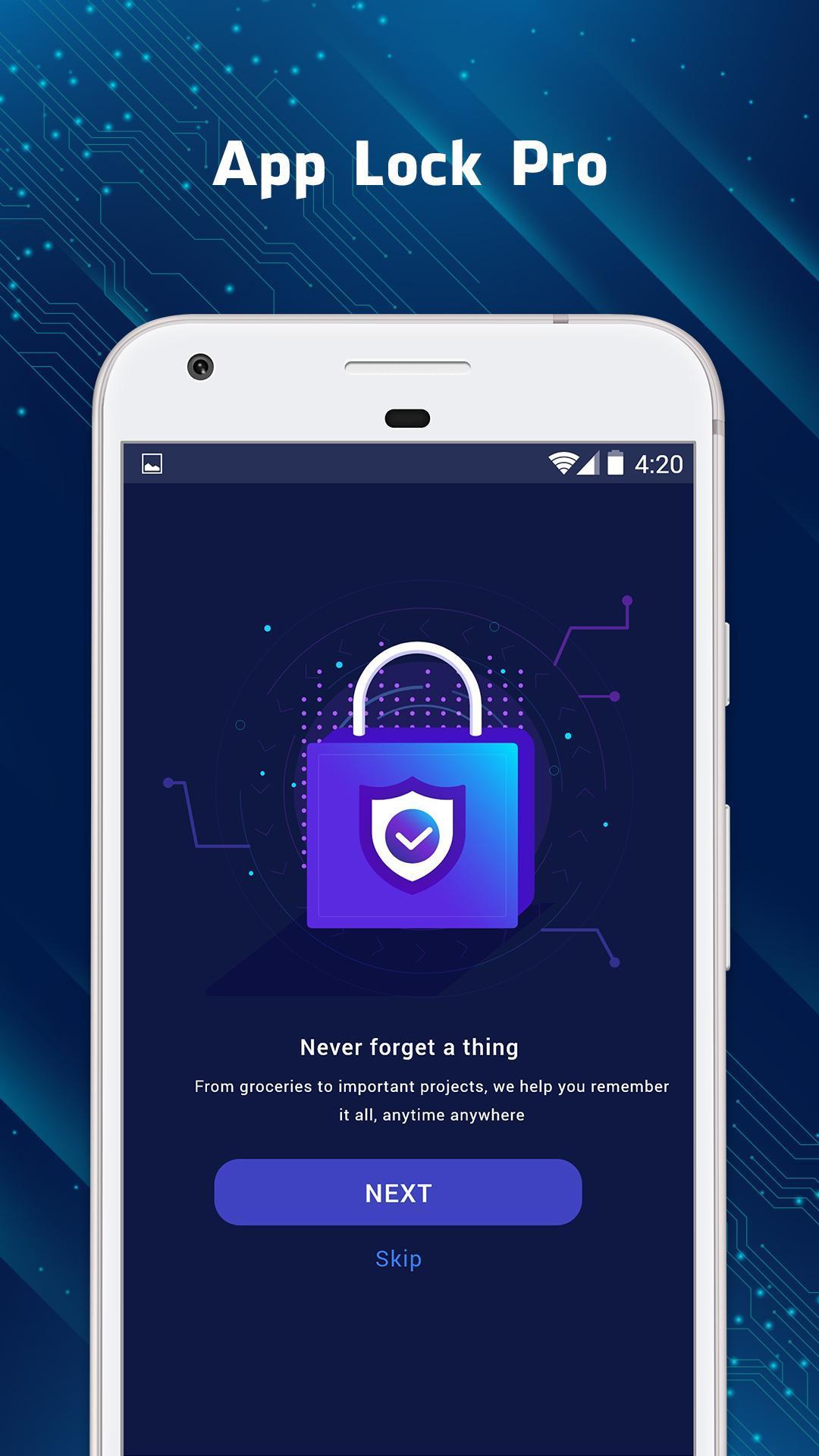 Applock Fingerprint Password Pin Pattern Lock For Android