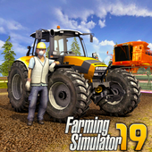 Farming Simulator 19- Real Tractor Farming game आइकन