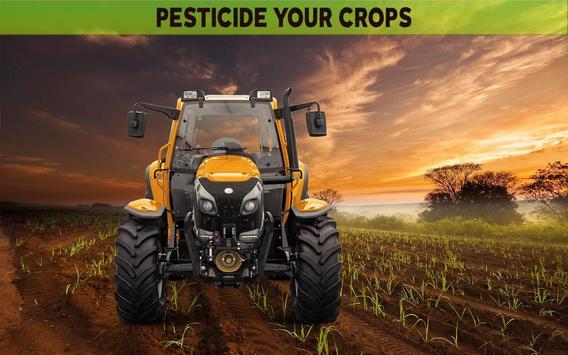Farming Simulator 19- Real Tractor Farming game स्क्रीनशॉट 10