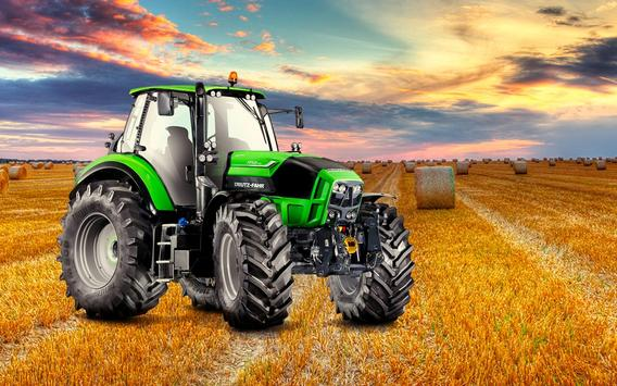 Farming Simulator 19- Real Tractor Farming game स्क्रीनशॉट 12