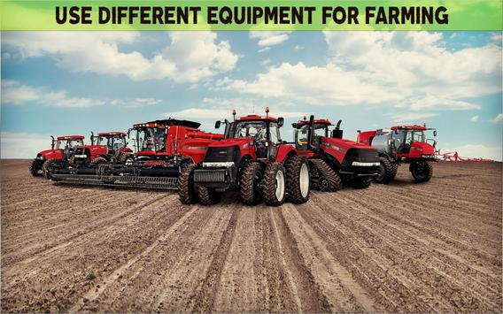 Farming Simulator 19- Real Tractor Farming game स्क्रीनशॉट 15