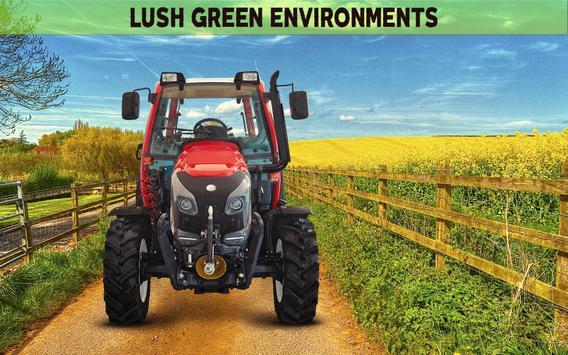 Farming Simulator 19- Real Tractor Farming game स्क्रीनशॉट 1
