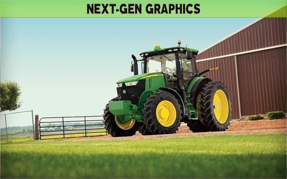 Farming Simulator 19- Real Tractor Farming game स्क्रीनशॉट 21
