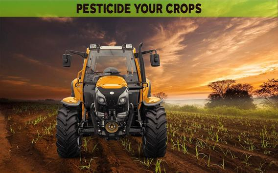Farming Simulator 19- Real Tractor Farming game स्क्रीनशॉट 2