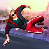 Rooftop Parkour Simulator: Run, Flip & Roll icon