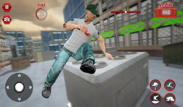 Rooftop Parkour Simulator: Run, Flip & Roll screenshot 9