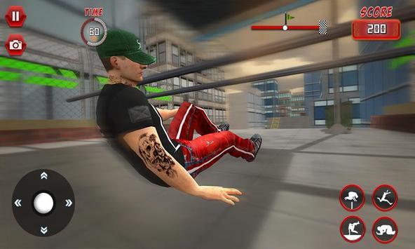 Rooftop Parkour Simulator: Run, Flip & Roll screenshot 3