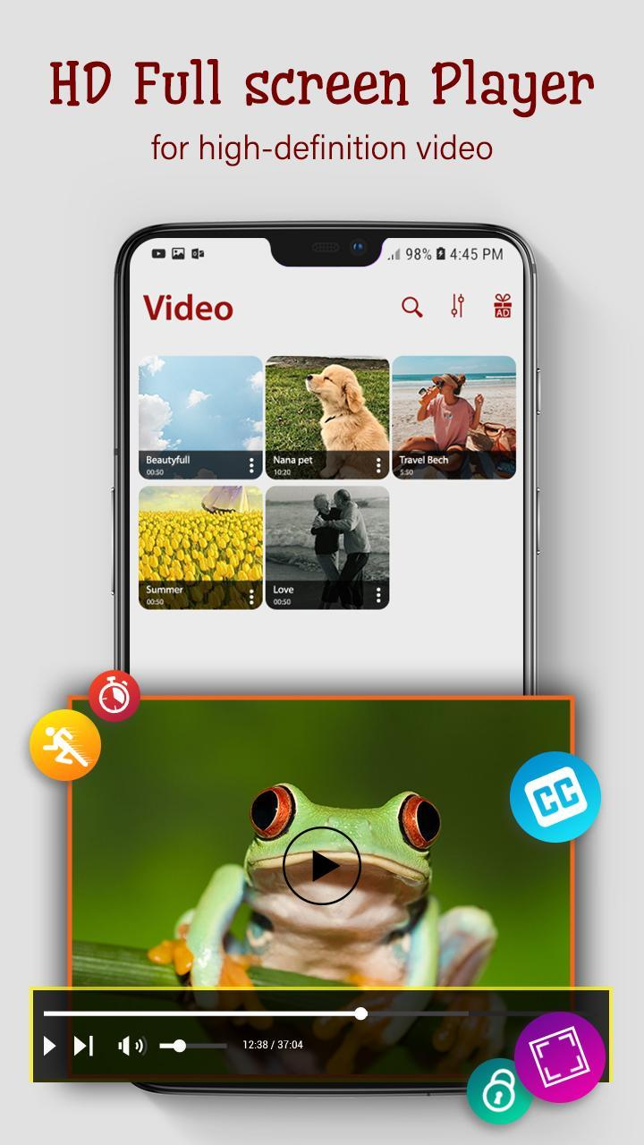 Video player - Video & mp3 player for Android - APK Download