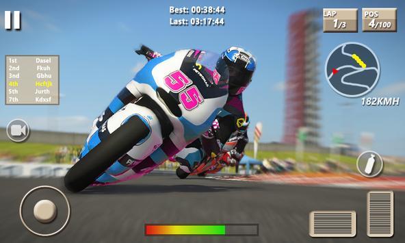 Speed Moto Bike Racing Pro Game 3D screenshot 3