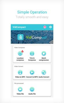 Video to MP3 Converter & Compressor - VidCompact poster