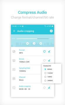 Video to MP3 Converter & Compressor - VidCompact screenshot 3