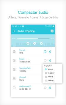 Video to MP3 Converter, Compressor de Vídeo imagem de tela 2