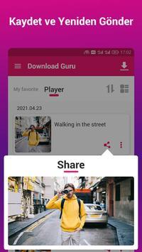 Video İndirici ve Oynatıcı - İndirme Gurusu Ekran Görüntüsü 5