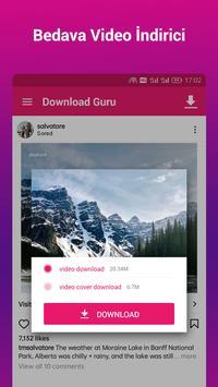 Video İndirici ve Oynatıcı - İndirme Gurusu Ekran Görüntüsü 1