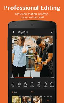 Editor video dan pembuat film, aplikasi edit video screenshot 3