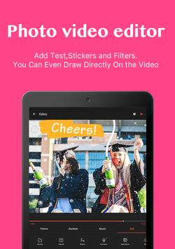 Editor video dan pembuat film, aplikasi edit video screenshot 10