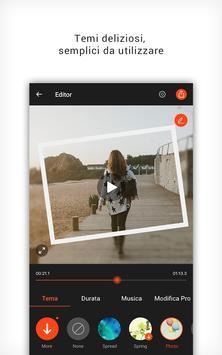 1 Schermata VideoShowLite: editor video, taglio, foto, musica