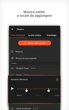 2 Schermata VideoShowLite: editor video, taglio, foto, musica