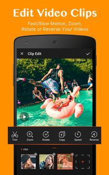 VideoShowLite:Video editor,cut,photo,music,no crop screenshot 1