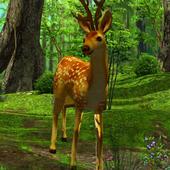 3D Deer-Nature Live Wallpaper icon