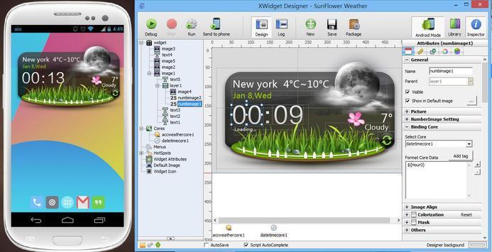 XWidget screenshot 1