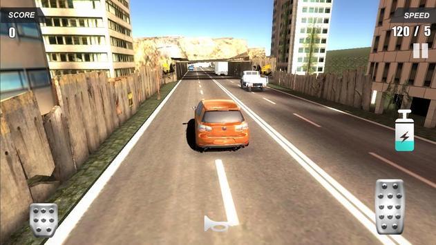 Racing Car In City screenshot 3