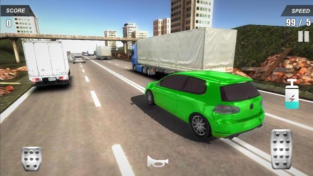 Racing Car In City screenshot 13