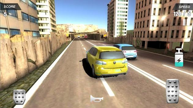 Racing Car In City screenshot 1
